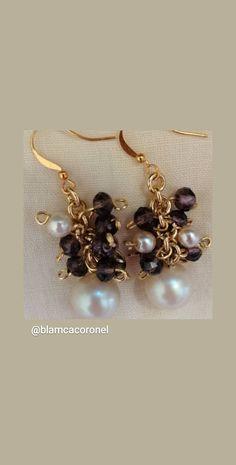 Destacada - @blamcacoronel Halloween 2015, Pearl Earrings, Brooch, Candy, Bar, Pearls, Jewelry, Pearl Studs, Jewlery