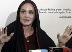 """wth // Angelina Jolie --- Kooky Fruits. She fluctuates between glory and insanity quite easily, it seems. I guess when your pal GEORGE CLOONY marries """"AMAL ALAMUDDEN"""" and Hollywoods best land/ & old homes are being bought up before our eyes on BRAVO's TV Millionaire Real Estate show ... name? - Islam wants Hollywood. Look at this goofball. Fuck her."""