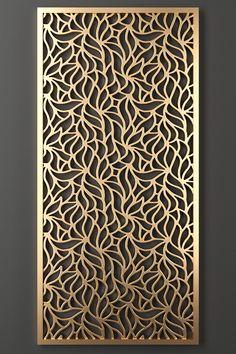 Laser Cut Screens, Laser Cut Panels, Decorative Metal Screen, Decorative Panels, Cnc Cutting Design, Wood Cutting, Metal Screen Doors, Cnc Wood Carving, Jaali Design