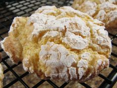 Cool Whip Cookies  Ingredients:  1 package (18.25 Oz. Box) Cake Mix  1 cup Cool Whip  1 whole Large Egg  1 cup Powdered Sugar    Instructions:    Set oven to 350 degrees.    Mix all ingredients, except powdered sugar. Roll a spoonful of dough in powdered sugar. Place on a cookie sheet and bake for about 8 minutes.    I love these in lemon and strawberry, and of course … chocolate!