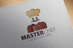 Check out Master Chef Logo by samedia on Creative Market