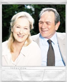 """We met in the middle of Astor Place. And I remember thinking she was angelic."" - Tommy Lee Jones on meeting Meryl for the first time in the 70s"