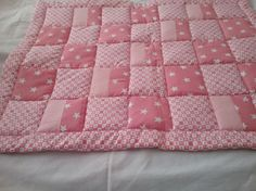 Hey, I found this really awesome Etsy listing at https://www.etsy.com/uk/listing/507228696/baby-girls-pink-cot-cover-quilt-play-mat