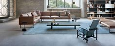 The 202 8 Sofa was designed by Piero Lissoni. Find out more on Cassina's website.