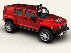 Hummer H3R 3D Model- Max Format:  Meshsmooth is applied so you can set the object resolution as you like. Just use the Named Selection Set meshsmooth to select the SubD objects and the Named Selection Set interior for the interior. The doors are animated.    Obj Format:  In 3 different resolutions ranging from 210383 to 2558796 Polygons. Interior and exterior are saved separately so you can render the car also without the interior. The lowest poly-version is the SubD. hull. So you can use it…