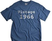 50th birthday gift vintage 1966 shirt 50 birthday gift 1966 birthday tshirt birthday shirts for men and women 50th birthday ideas