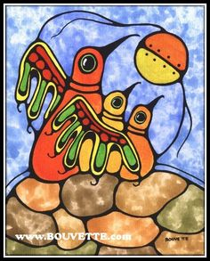 I am a self-taught American Metis Artist. I reside in Sault Sainte Marie, the city through which the first Canadienne Voyageur in the BOUVETTE Family tr. American Indian Art, Native American Art, American Indians, Different Forms Of Art, Woodland Art, Drawing Sketches, Drawings, Inuit Art, Indigenous Art