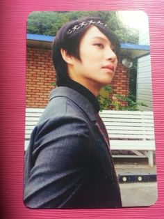 SUPER JUNIOR HEECHUL Ver B Official Photo Card 7th Album Mamacita Hee Chul