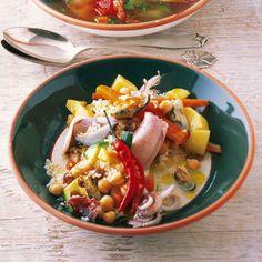 Der getrocknete Peperoncino macht`s etwas scharf - ist aber eine Schärfe, die schmeckt.