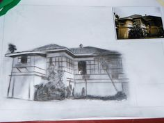 Drawing of Jose Rizal's House
