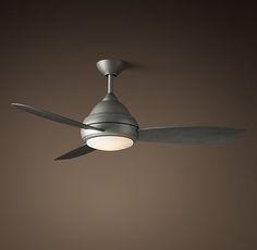 """Concept Drop Down Ceiling Fan. 44"""" x 2"""