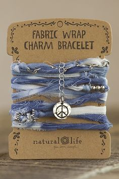 Fabric Wrap Bracelets From Natural Life #naturallife #pinittowinit #pinhappy