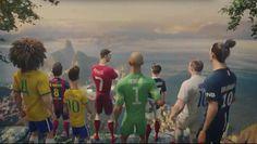 Neymar, Cristiano Ronaldo e Ibra viram desenho animado em vídeo espetacular