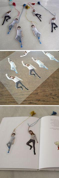 marcapaginas lesezeichen bookmark geschenk regalo present kinder ninos kids
