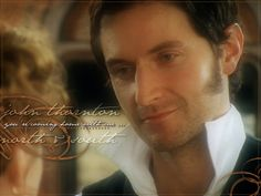 "Richard Armitage in ""North & South.""  I have dreams about this line..."