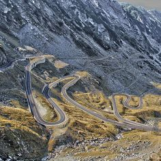 Transfăgărășan Road — Sibiu, Romania 16 Spectacular Roads You Need To Drive On Before You Die