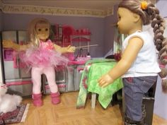 MOVING DAY!...American girl style AGSM - YouTube