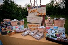 """""""General Store"""" favors, perfect for a destination wedding"""
