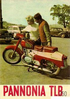 Pannónia motor reklám Vintage Motorcycles, Cars And Motorcycles, Motorcycle Posters, Motorized Bicycle, Vespa Lambretta, Motor Company, Classic Bikes, Illustrations And Posters, Vintage Posters