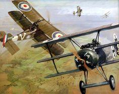 1917 09-23 56 Sqn vs Werner Voss