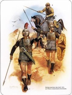 Rafael Trevio Barbarians against Rome. Rome's Celtic, Germanic, Spanish and Gallic Enemies, 2002 - Археология - Balto-Slavica Old Warrior, Greek Warrior, Carthage, Iron Age, Ancient Rome, Ancient History, Punic Wars, Celtic Warriors, Templer