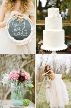 Rustic + Whimsical Fall Wedding Inspiration