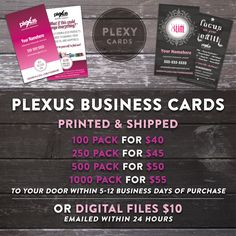 Digital simple chic business cards pink business cards business plexus business cards pricing please share sharingiscaring reheart Choice Image