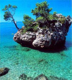 Brela, Mitteldalmatien // Brela, Southern Dalmatia, Croatia ◆Kroatien – Wikipedia http://de.wikipedia.org/wiki/Kroatien #Croatia