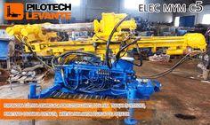 Entre nuestras mejoras se encuentra una máquina de micropilotaje con motor eléctrico de reducidas dimensiones para poder acceder a inmuebles, fabricada en nuestros talleres y que comercializamos como el modelo ELEC MYM C5.