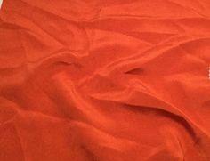 "Burnt Orange - 30mm Silk Crepe (9""x10"")"
