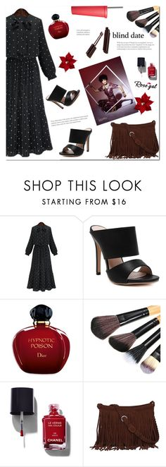 """""""Blind date"""" by arohii ❤ liked on Polyvore featuring Christian Dior, Chanel, Red 23 and blinddate"""