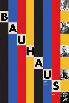 Art Bauhaus, Bauhaus Logo, Design Bauhaus, Graphic Design Projects, Graphic Design Posters, Graphic Design Typography, Graphic Design Inspiration, Web Design, Creative Design