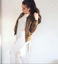 IAmSabrina29 in Miss Selfridge white rip jeans
