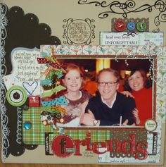 Scrapbook Pages! : )