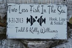 Wedding Sign - Beach Wedding Sign - Personalized - Wedding Gift - Wedding Decor - Custom Colors - Painted