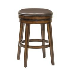Hillsdale Furniture - Beechland Backless Swivel Counter Stool