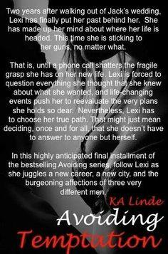 Avoiding Temptation K.A. Linde