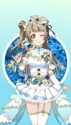 ~Kotori ~Love Live ~Edit made by xSachiyo Sailor Moon, Girl In Water, Love Live, Cute Images, Kawaii Girl, Live Wallpapers, Anime Love, Anime Characters, Manga Anime