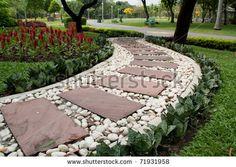Garden Stone Path by foto76, via ShutterStock
