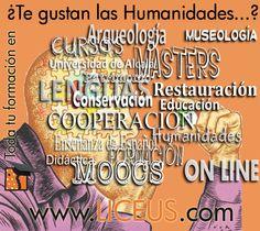 Tenemos contenidos de Humanidades para todos los gustos: formación, libros, artículos electrónicos y mucho más...