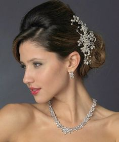 Affordable Elegance Bridal - Freshwater Pearl and Crystal Wedding Hair Comb, $88.99 (http://www.affordableelegancebridal.com/freshwater-pearl-and-crystal-wedding-hair-comb/)