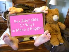 Feel like sex is just a chore on your to-do list? Here's how to make it fun (and make it happen) even when kids come!