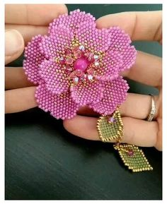 Bead Embroidery Tutorial, Bead Embroidery Patterns, Bead Embroidery Jewelry, Beaded Embroidery, Beading Patterns, Macrame Patterns, Beaded Flowers Patterns, Beaded Jewelry Patterns, Bracelet Patterns