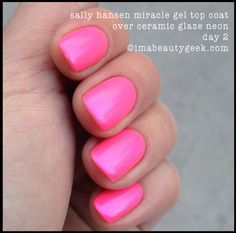 SALLY HANSEN MIRACLE GEL REVIEW   COLOR COLLECTION SWATCHES - Beautygeeks