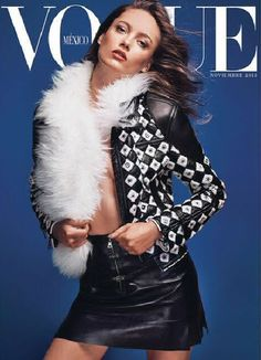 World Country Magazines: Fashion Model @ Karmen Pedaru by David Roemer for Vogue Mexico, November 2015