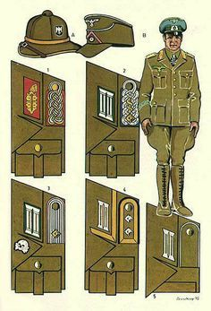Wh Collar Tabs And Uniforms German Uniforms Military Uniform