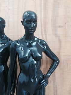 Love this? Buy it at Mannequin Madness!  Elly in Glossy Black: Rootstein Female Mannequin