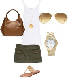 """Saturday afternoon"" by goldelocks on Polyvore"