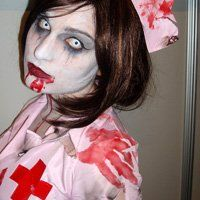 Scary Silent Hill Dead Nurse Costume | Awesome Costumes & Make-Up ...