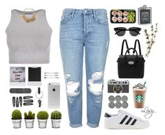 random hipstaa` - by Lisy by lisajackson on Polyvore featuring polyvore fashion style Free People Topshop adidas Originals Mulberry Yves Saint Laurent PA Design Billabong Polaroid